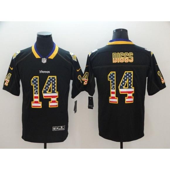 buy popular 0f89d 38ab8 Minnesota Vikings Stefon Diggs Jersey NWT
